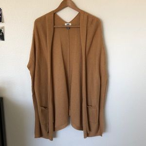 Old navy camel cape sweater